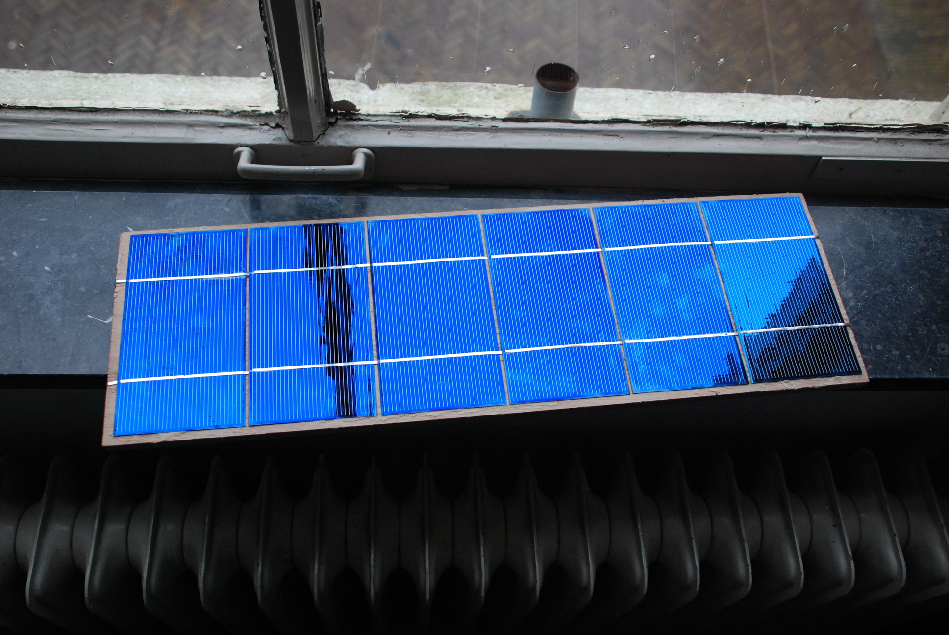Homemade solar panels | Home of the Hacking Tiger